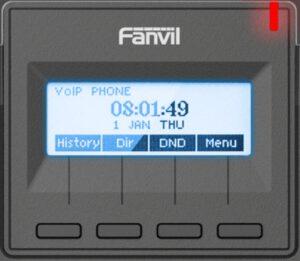 Fanvil X1S display backlight